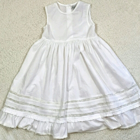 Agree, Vintage little girls white dress